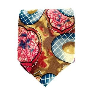 Christian Dior All Silk Tie Multi-Color WPL 125